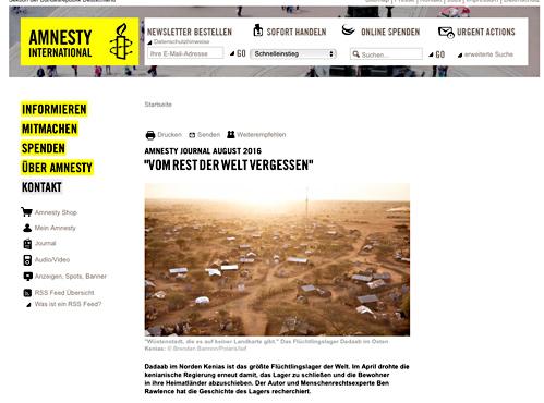 """Ben Rawlence: """"Dadaab ist vom Rest der Welt vergessen"""""""